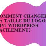 Changer la taille du logo Divi wordpress